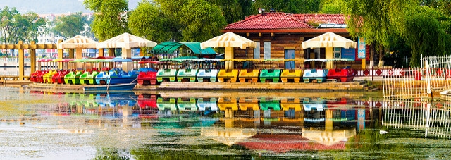 Jilin Beishan Park, Dongbei, China (See-ming Lee/Flickr)