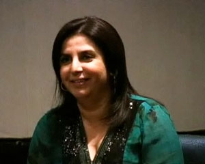 Farah Khan reflects on changes in the Indian film industry (on both sides of the camera) in Mumbai on Dec. 18, 2008.  (3 min., 43 sec.)
