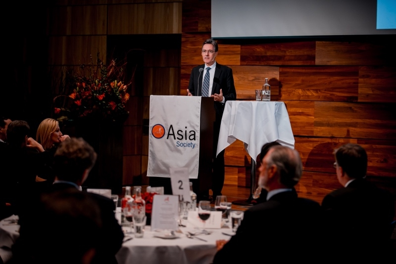 Dr. Joachim von Amsberg, Vice President of the AIIB ©David Biedert/Asia Society Switzerland