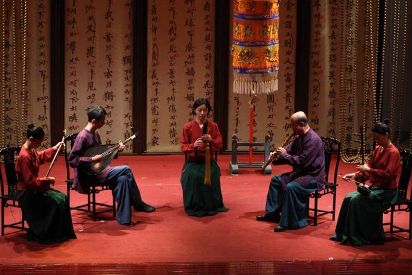 Courtesy of Lâm-hun-koh Nanguan Music and Theater Troupe