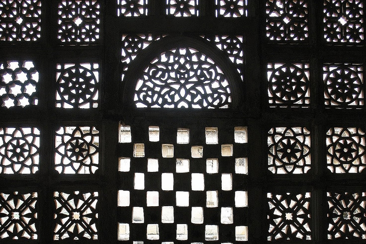 Sarkhej Roza (Tomb & Mosque Of Ahmad Khattu Ganj Bakhsh) in India.