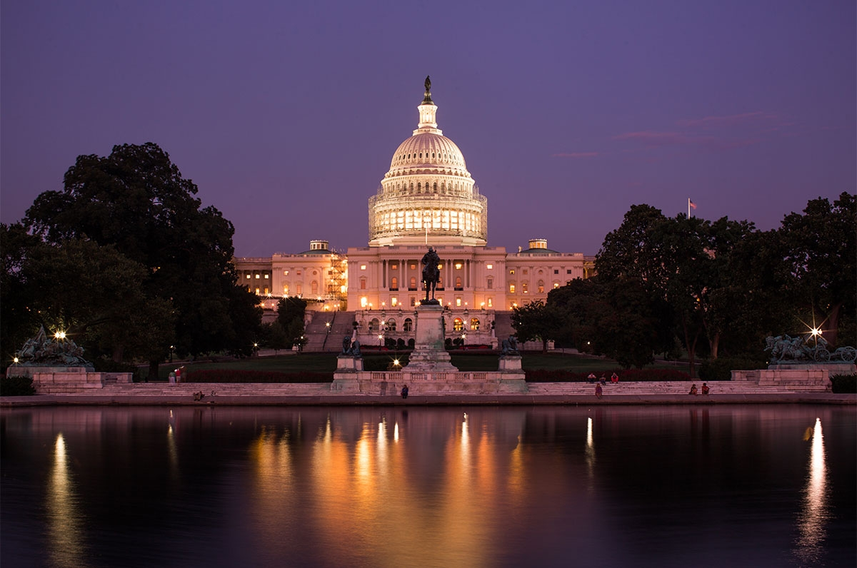 Capitol Hill at night. Thomas Hawk/Flickr