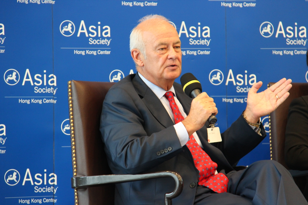 Bill Taylor, former president & CEO of Mercedes-Benz U.S., spoke at Asia Society Hong Kong Center. (Asia Society Hong Kong Center)