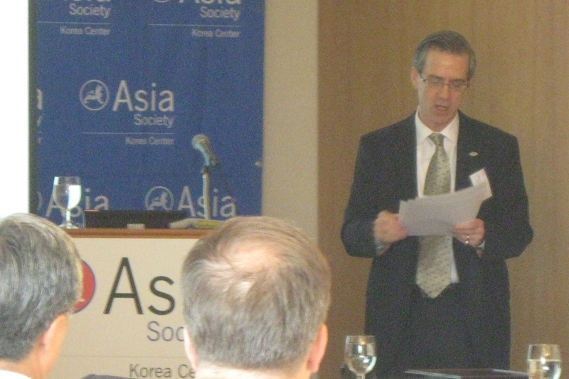 Stuart Solomon, Chairman of MetLife Korea at Asia Society Korea Center