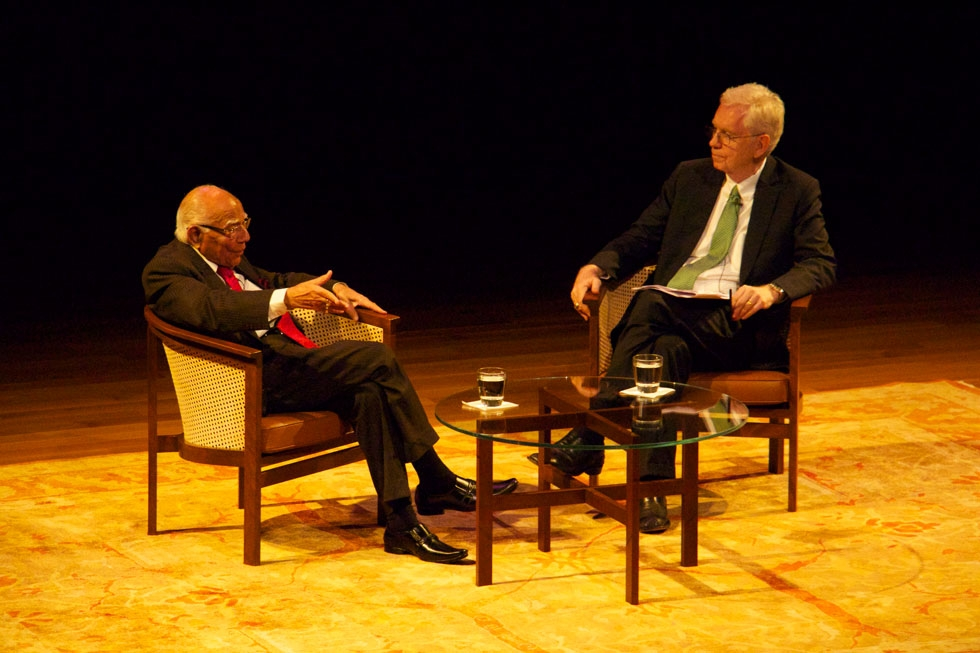 Jethmalani Challenges U S To Do More For India Asia Society