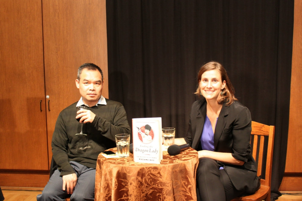 Monique Demery with moderator Andrew Lam