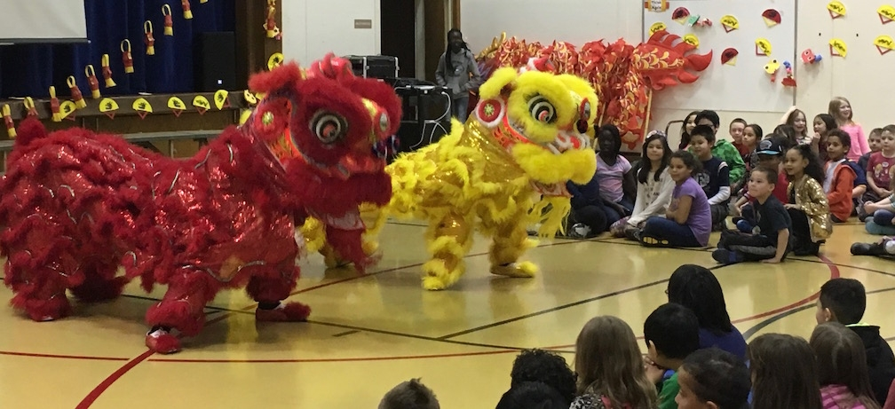 Celebrating Chinese New Year. (Jennifer Schmitz)