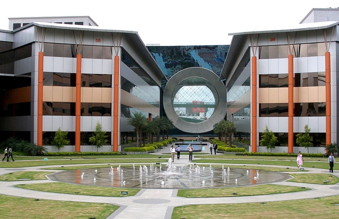 The Infosys campus in Bangalore, India. (theqspeaks/flickr)