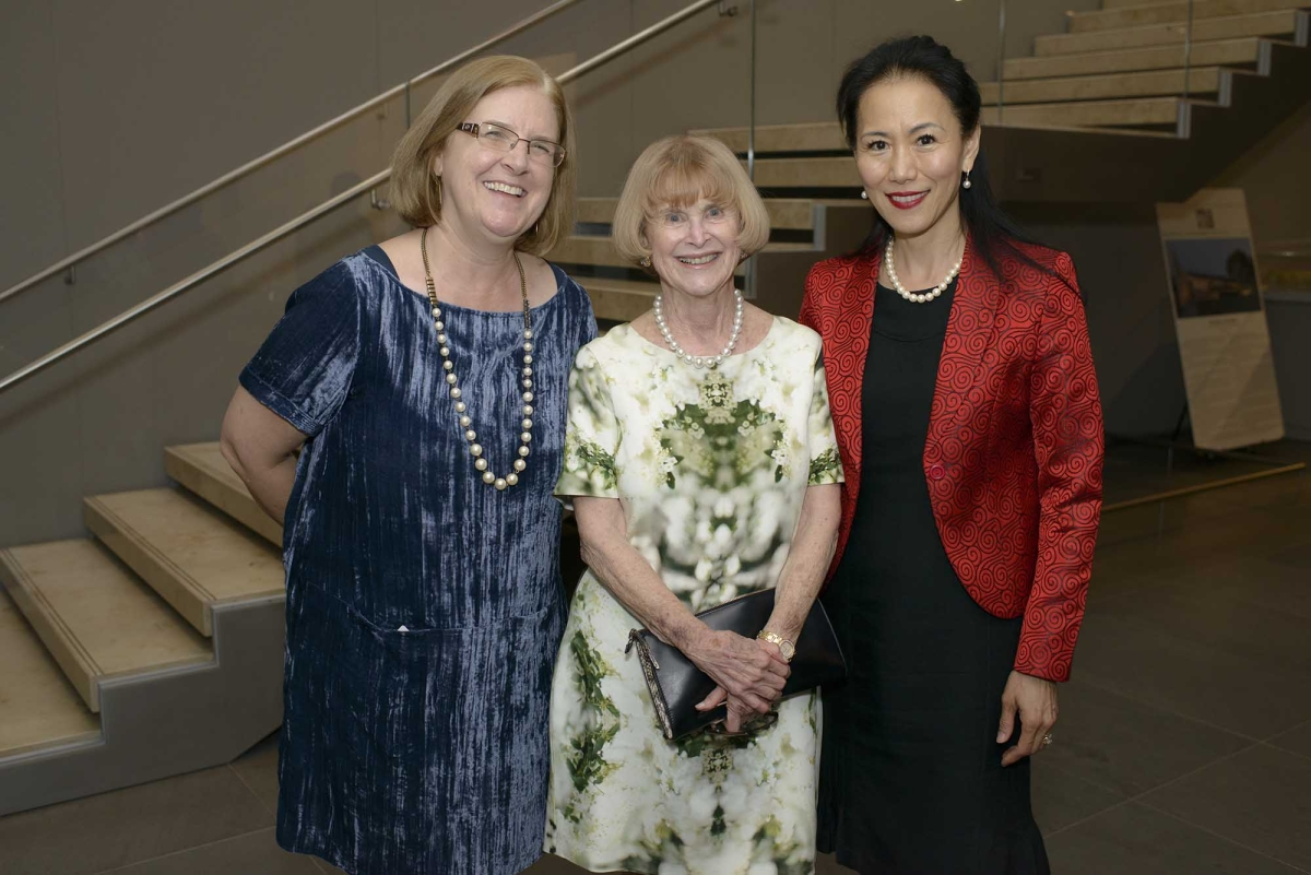 Left to Right: Rosine Matthews, Nancy Allen, Y. Ping Sun (Jeff Fantich)