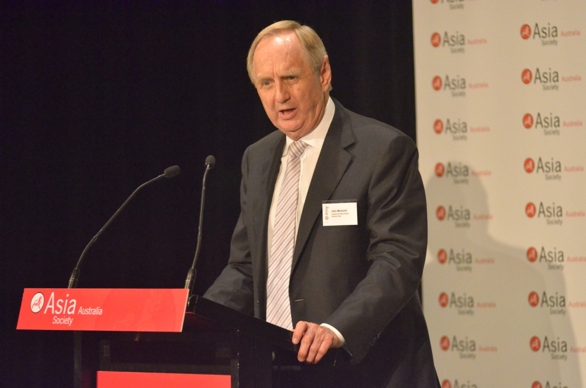 John Morschel, Chairman, Australia and New Zealand Banking Group