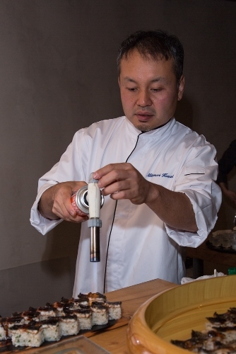 Chef Kusakabe at work (Michelle Edmunds)