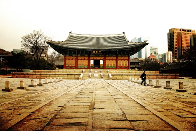 Ancien Korea palace