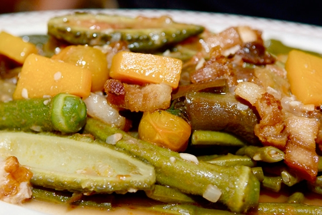 Pinakbet, a Filipino vegetable stew, is one of the dishes featured in Kulinarya: A Guidebook to Philippine Cuisine. (Alex van Hagen)