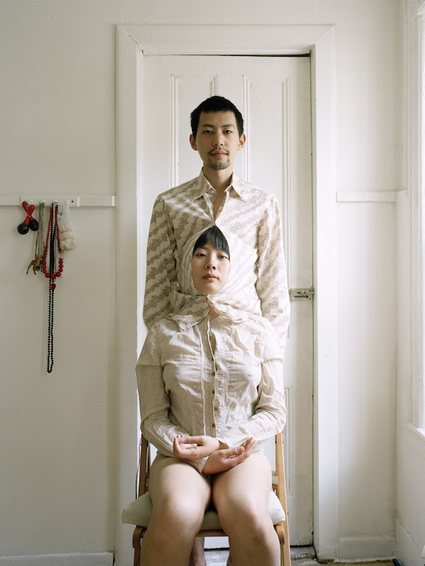 Try to live like a pair of siamese twins, 2009, Digital c-print, 34 x 44 x 2 inches. (Pixy Yijun Liao)