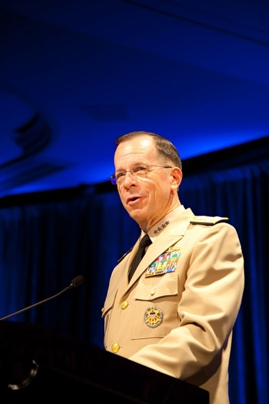 Admiral Mike Mullen, Chairman of the Joint Chiefs of Staff. (Les Talusan/Asia Society)