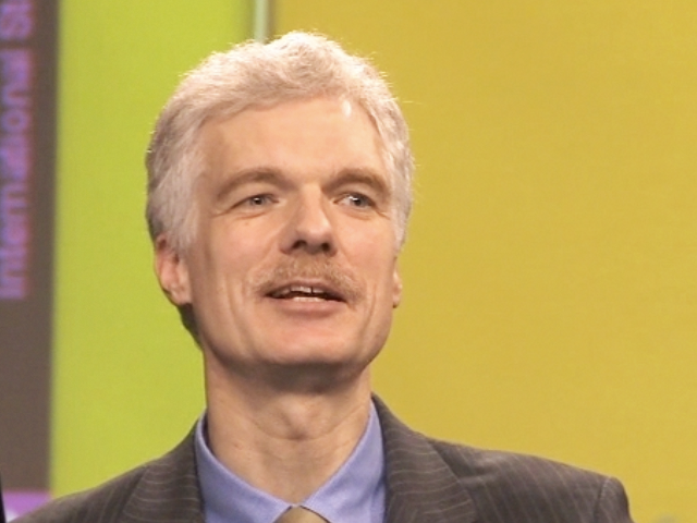 Dr. Andreas Schleicher of the OECD. (Michael Miller)