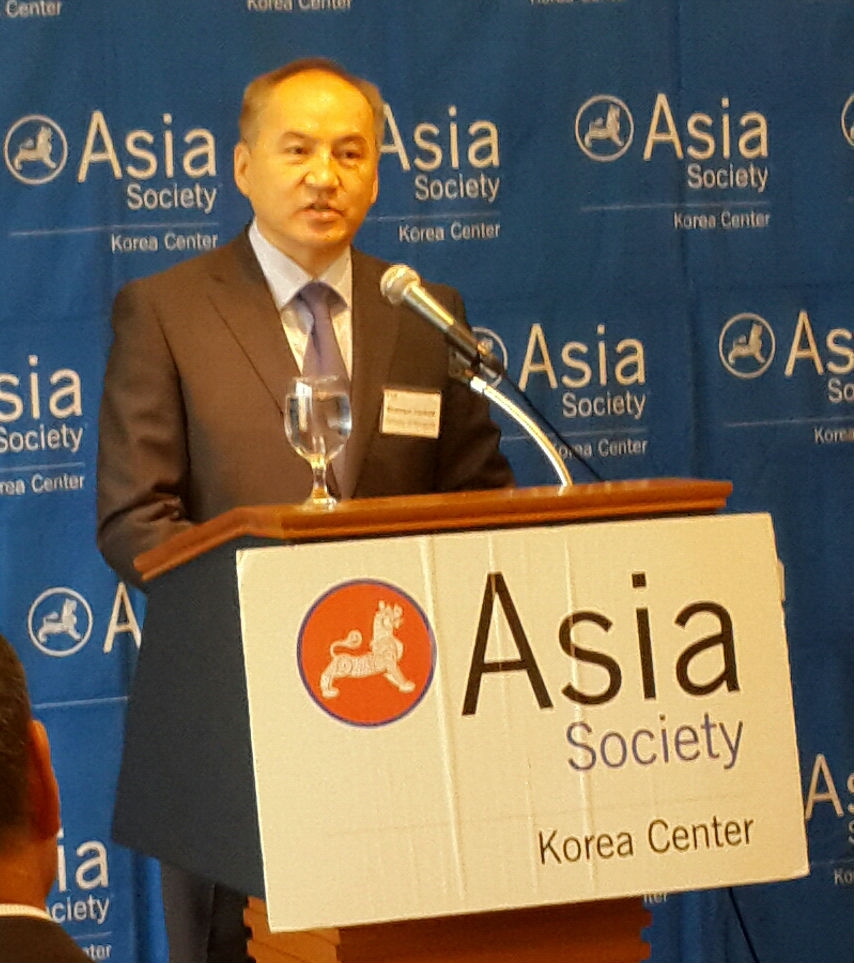 H.E. Baasanjav Ganbold, Ambassador of Mongolia to the Republic of Korea