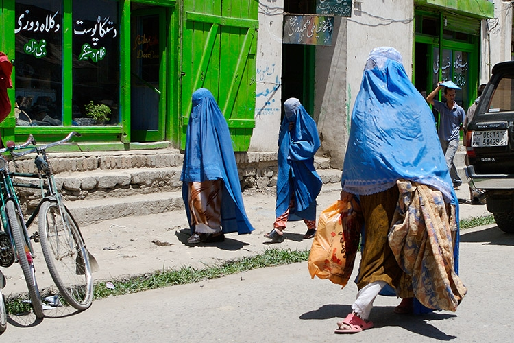 Muslim women in Kabul. (twocentsworth/Flickr)