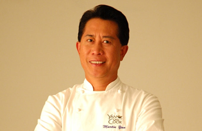 Chef Martin Yan is the star of 3,000 cooking shows and author of 30 cookbooks.