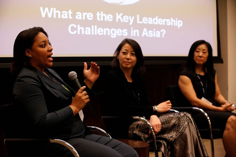 L to R: Aynesh L. Johnson, Rosaline Koo, and Suyin Copley