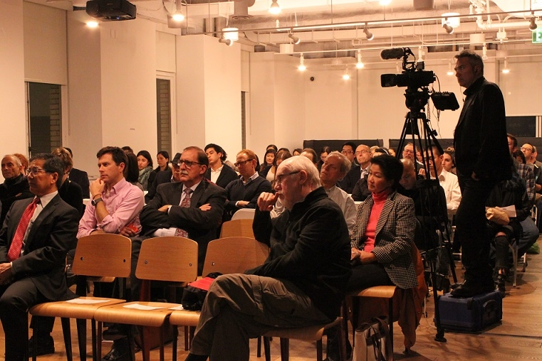 It was a packed house at this event. (Asia Society)