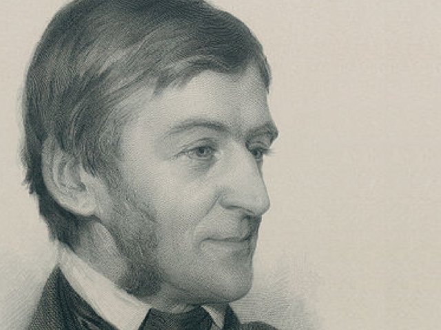 Ralph Waldo Emerson. (Etching by Sam W. Rowse, 1878)