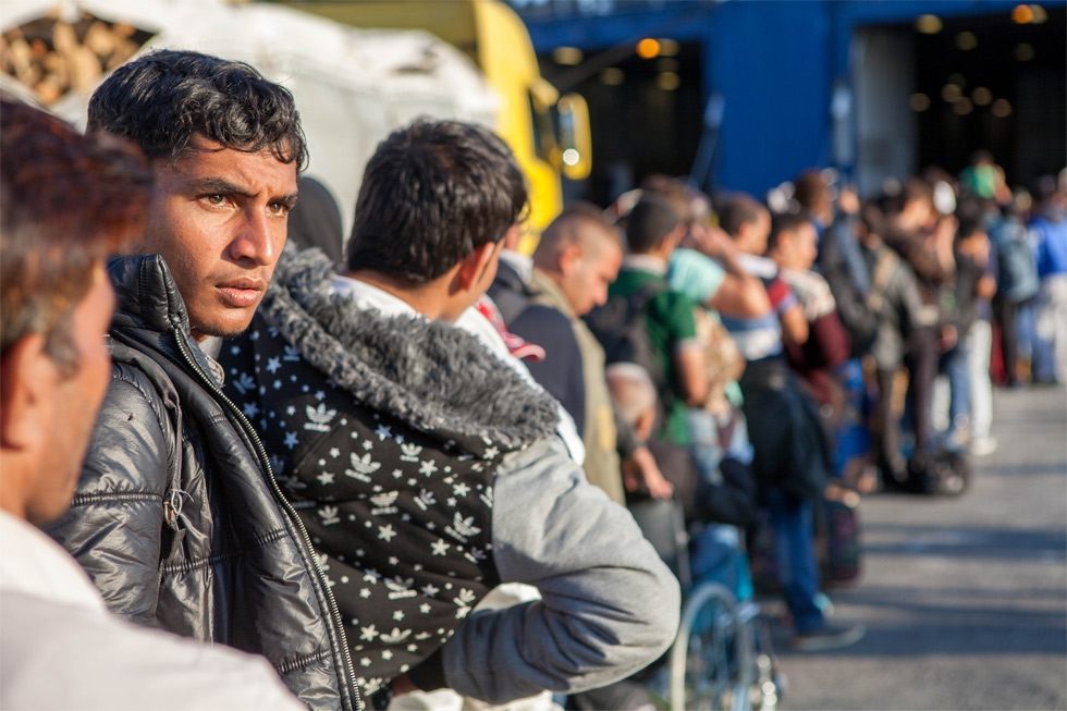 Refugees in Europe (CAFOD Photo Library/Flickr)