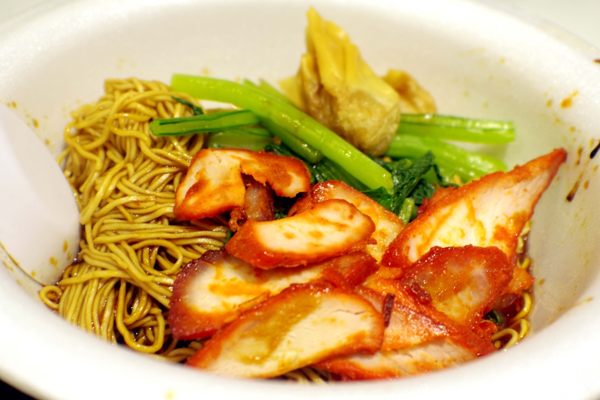 Wonton noodles are interpreted in many different ways in different countries such as Hong Kong, Malaysia, Philippines, Thailand and Singapore, with variations on its dumplings, or wontons. Wontons can be filled with shrimp, minced pork, mushrooms or fish paste, and can be fried or boiled. (Saki Yuen)