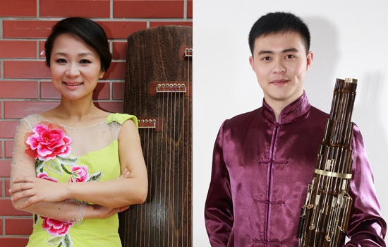 Left: QI Yao, Right: HUA Yifei. Courtesy of the Shanghai Conservatory of Music
