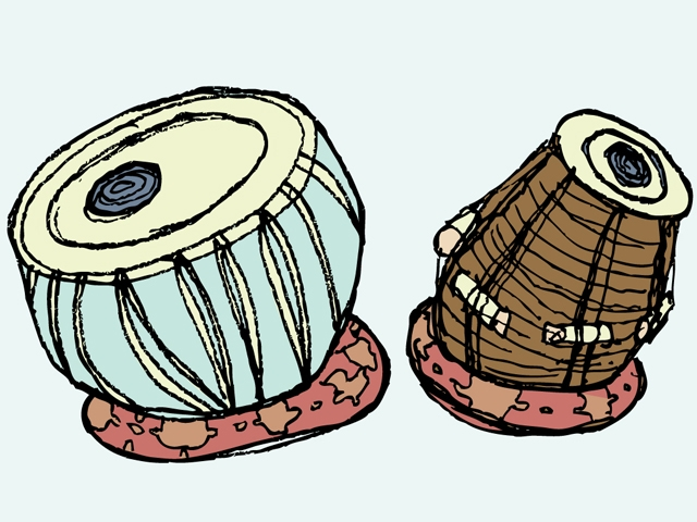 Tabla. Illustration: Jayesh/iStockPhoto.com.