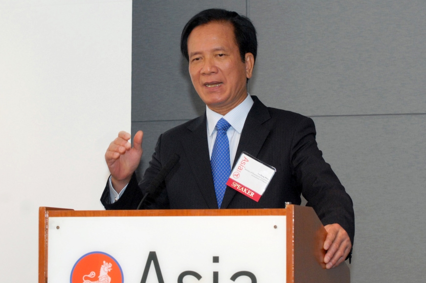 Planning and Investment Minister Vo Hong Phuc (Elsa Ruiz/Asia Society)