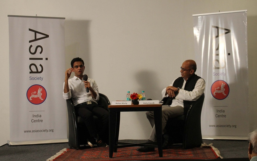 L to R: Rohan Murty and Rahul Jacob