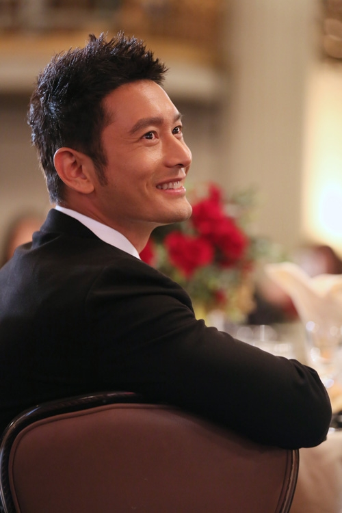 Actor, Asia Society Southern California Honoree, Huang Xiaoming. Photo by Ryan Miller/Capture Imaging.