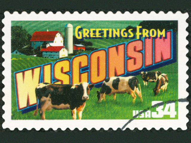 Wisconsin stamp