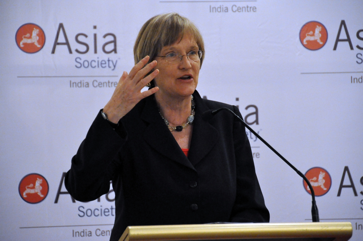 Harvard University President Drew Gilpin Faust at Asia Society India Centre