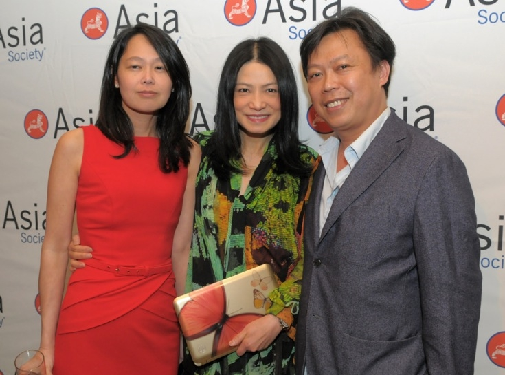 L to R: Thao Quan, fashion designer Vivienne Tam, and Chef Michael Bao Huynh. (Elsa Ruiz/Asia Society)