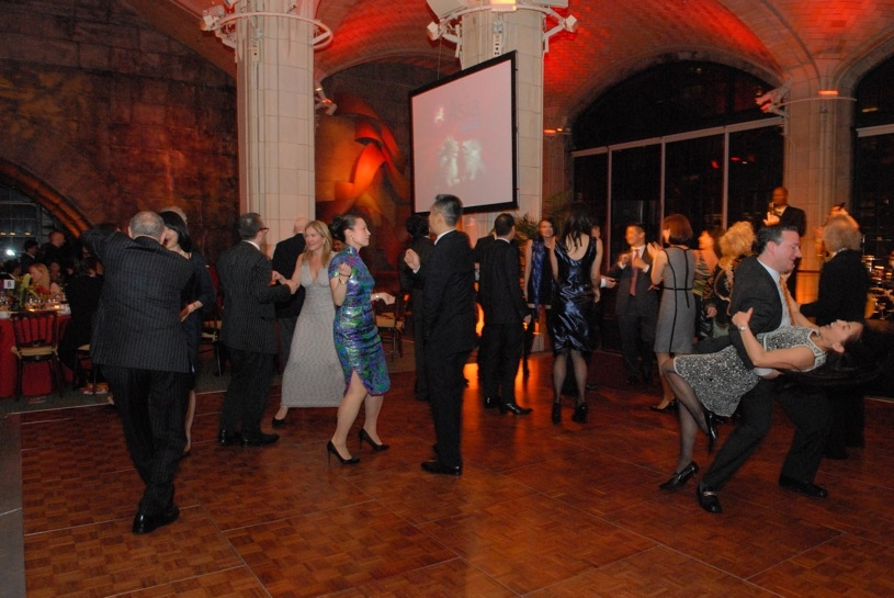 The night concluded with high-spirited dancing to live jazz, salsa, and mambo music at Guastavino's. (Elsa Ruiz/Asia Society)