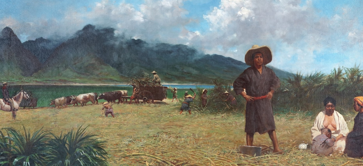 Private Art Tour: Japanese Laborers in Hawai'i