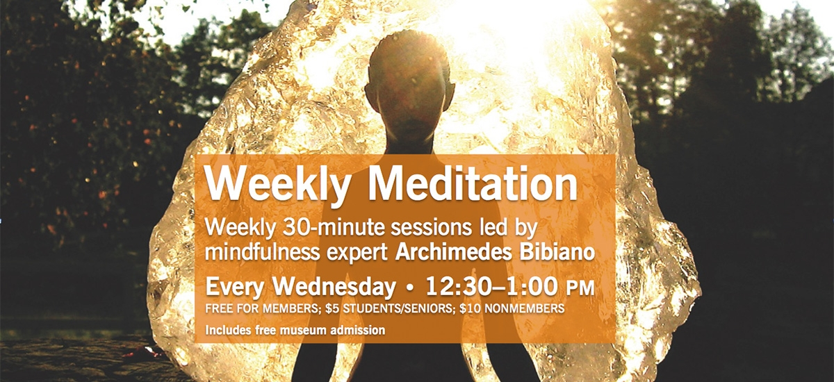 Mindful Meditation with Archimedes Bibiano Spring 2018