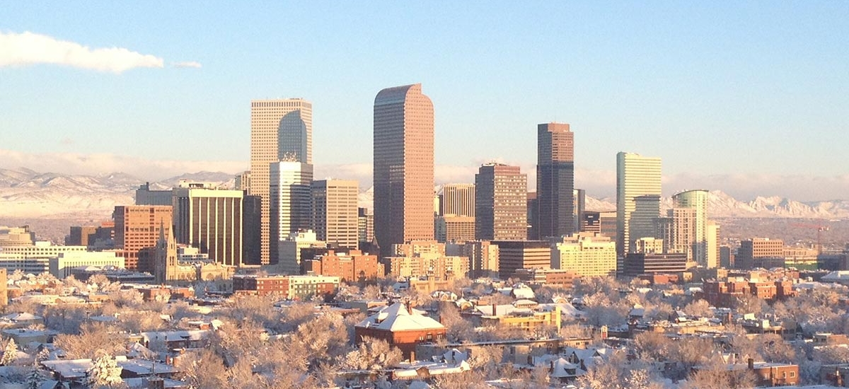 Denver skyline (R0uge/Wikimedia Commons)