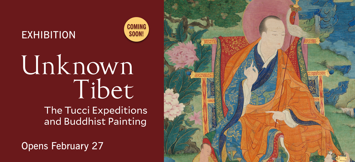 Unknown Tibet: The Tucci Expeditions and Buddhist Painting - Carousel PNG