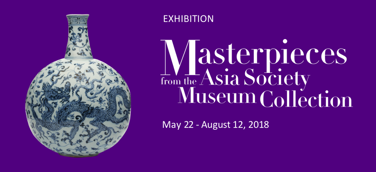 Promotion image for Masterpieces from the Asia Society Collection exhibition