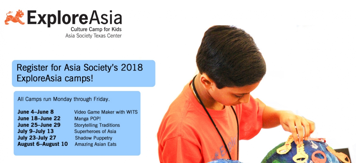 ExploreAsia Camp 2018