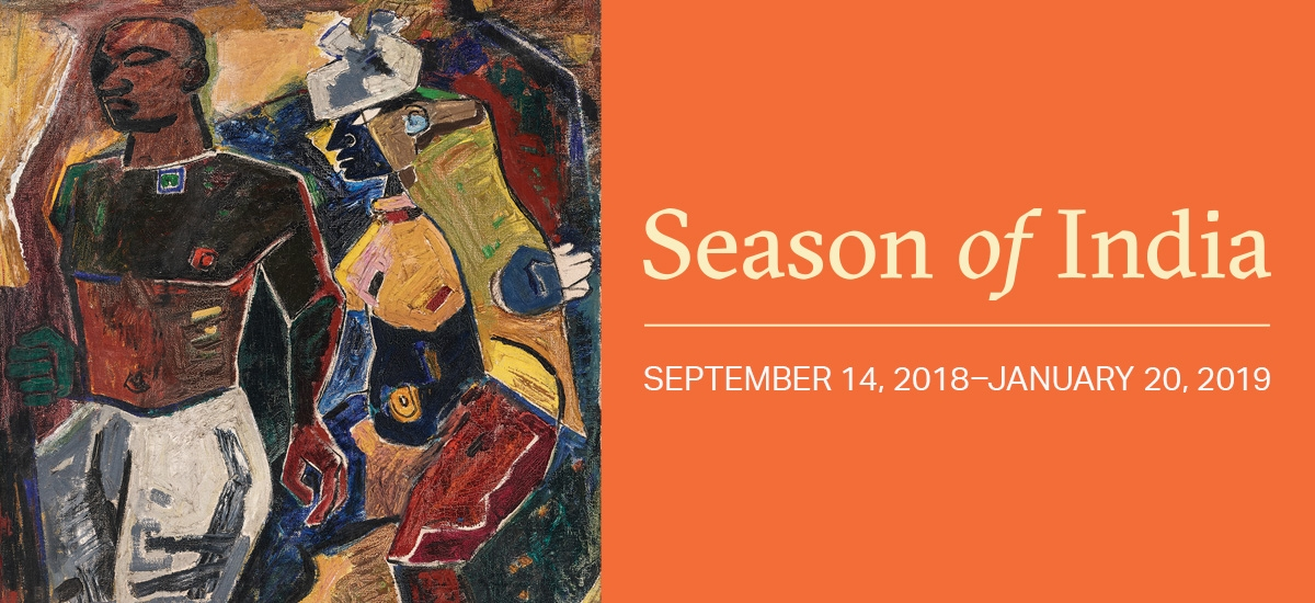 E-flyer for Asia Society New York's Season of India programming, fall 2018