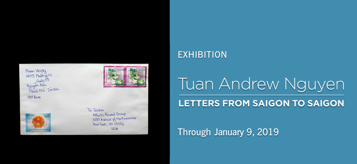 Tuan Andrew Nguyen exhibition at Asia Society New York, Fall 2018