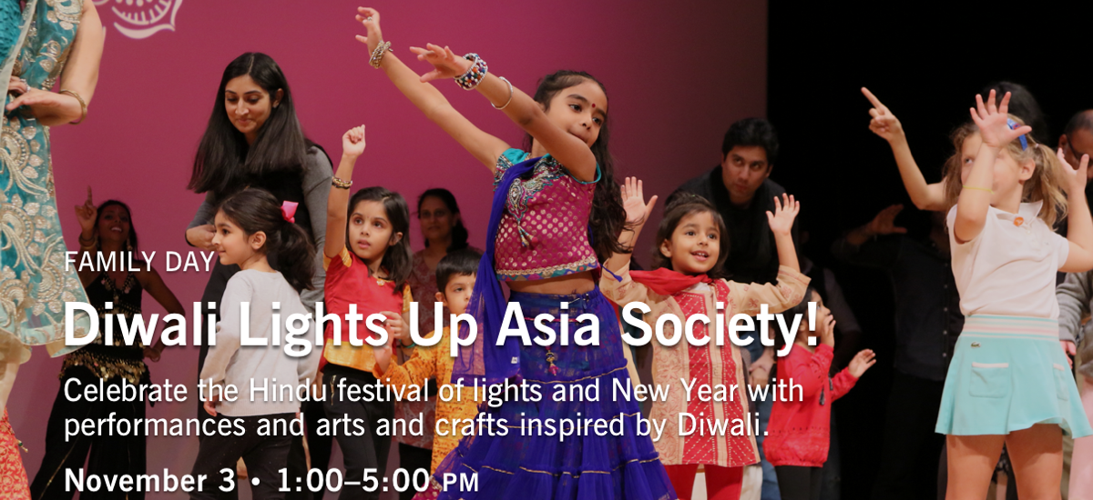 Diwali-themed family day at Asia Society New York