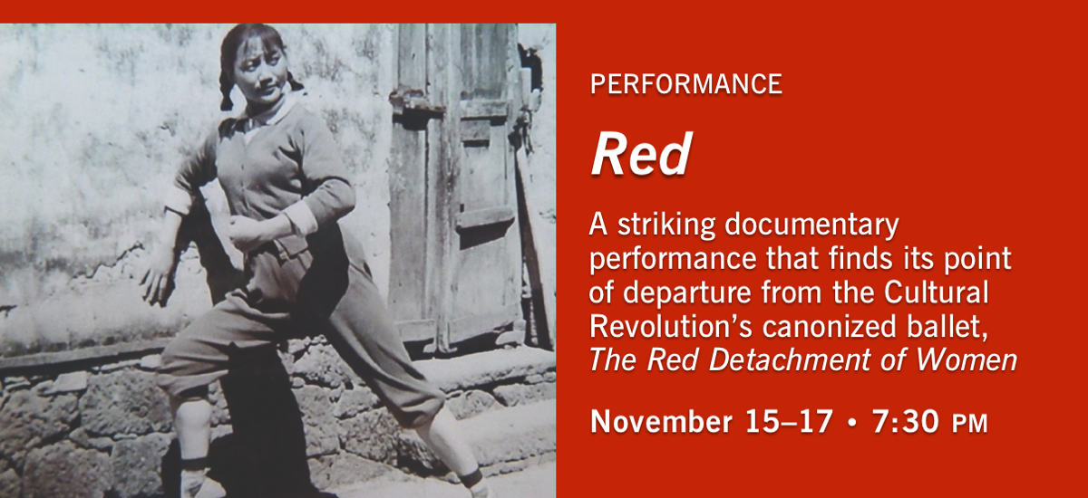 Red, a performance choreographed by Wen Hui