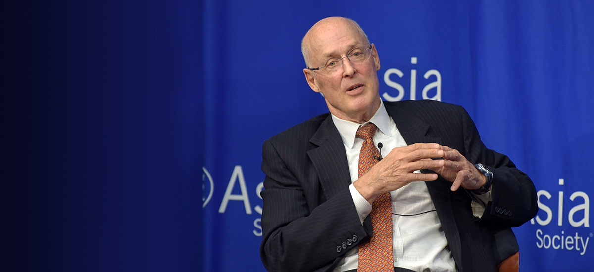 Hank Paulson on the Looming U.S.-China 'Economic Iron Curtain'