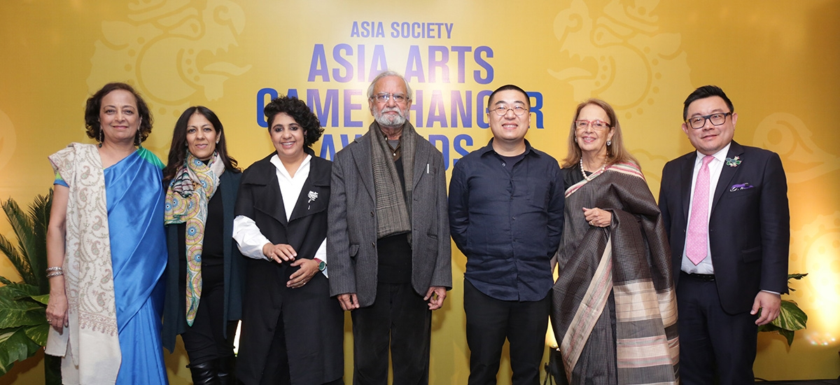Bunty Chand, Radhika Chopra, Vibha Galhotra, Gulammohammed Sheikh, Yang  Yongliang, Pheroza
