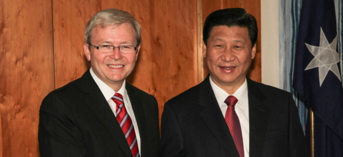 Rudd and Xi